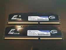 16GB Memory RAM DDR3 1600MHX (2x8MB) TPKD38G1600HC11BK Fully Tested Team Elite+