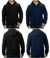 NEW!!! Reebok Men's Hybrid Softshell Jacket Hood Jacket Color & Size VARIETY!!!