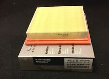New Infiniti Maintenance Advantage Air Filter replaces 16546-JK20A, QTY. 2