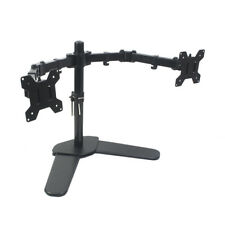 Bramley Power Dual Monitor Desk Mount Arm VESA Stand for Computer Display / TV