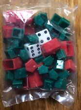 MONOPOLY Houses & Hotels Replacement Pieces New In Bag Sealed 2004 Edition
