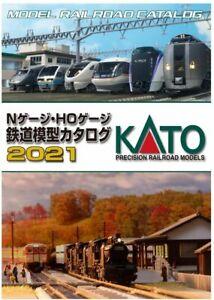 Kato 25-000 Model Railroad Japanese Catalogue 2021