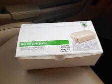 SKODA FABIA OCTAVIA YETI RAPID Bin for door panel beige Genuine accessories