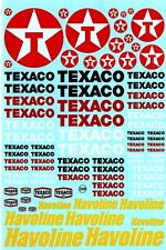 Decalbogen Texaco - Havoline - 1:18-24-32-43 (249)