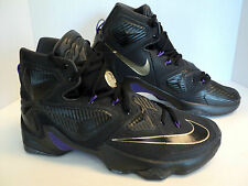 Nike Lebron XIII 13 Pot of Gold Black HYPER Purple Gold Basketball Elite BHM