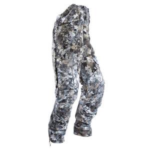 @NEW@ Sitka Gear Fanatic Pant Bibs Whitetail Optifade Elevated II Camo L