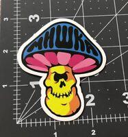 Mhwka Mushroom Skateboard Guitar Laptop Decal/ sticker