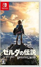 Nintendo Switch The Legend of Zelda Breath of the Wild Japan Japanese Game