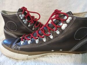 Converse Chuck Taylor All Star City Hiker Brown Leather 10 M/12 W pre-owned