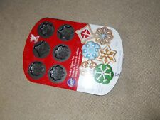 cookie shapes pan - non-stick for easy release