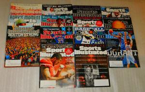 Sports Illustrated Lot 14 Magazines Football Baseball Hockey History 2014