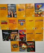 (N64 Nintendo 64) Original Authentic Manuals Only NO GAME INCLUDED