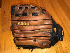 Wilson baseball Glove 12 1/2� A500 Rht