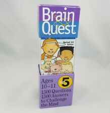 Brain Quest Grade 5 Revised 3rd Edition 1500 Questions and Answers, Age 10-11