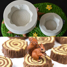 3.5CM Fairy Stump Silicone Mould Chocolate Fondant Cake Topper Decor DIY Tool
