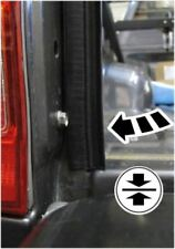 Genuine Toyota Hilux Double Cab and Extra Cab Tailgate Seal 05/05 - 03/15