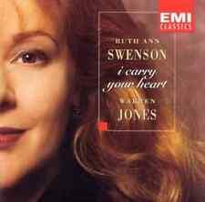 """RUTH ANN SWENSON """"I Carry Your Heart"""" (CD 1996) Warren Jones ***EXCELLENT***"""