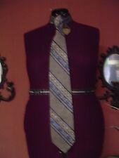 Men's Vintage Pierre Cardin Multi color Stripe Silk Neck Tie Euc