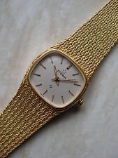 LADYS 18 CARAT GOLD ETERNA  WATCH WITH AN INTEGRAL WOVEN BRACELET BRAND NEW