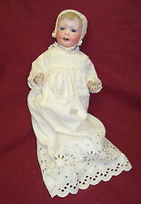 Antique #590 A.M. Germany Composition Body Bisque Head Character Baby Doll