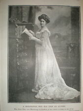 photo actress Rosie Boot now Marchioness Headfort 1902