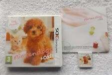 NINTENDOGS + CATS TOY POODLE & NEW FRIENDS 3DS V.G.C. FAST POST COMPLETE