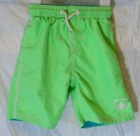 Boys Next Lime Green Blue Surf Camp Swim Swimming Shorts Shorts Age 4 Years