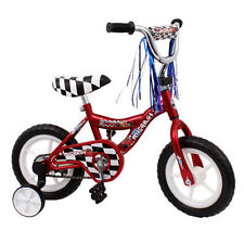 "Micargi MBR 12"" Bike Kids Boys BICYCLE w Training Wheels Streamers RED + BONUS @"
