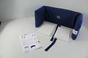 Geri-Chair 50390 Skil Care Lateral Wheelchair Back Support Padding Dark Blue