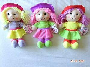 Baby Ruby My 1st Rag Doll Small Soft 23 cm, 9 ins, 10+ Months Present Filler.