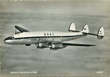 Airliner Postcard BOAC Constellation