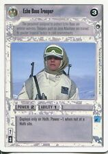 Star Wars CCG Hoth White Border Echo Base Trooper