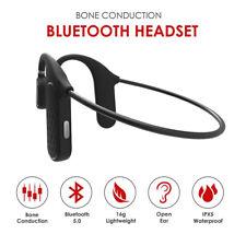 Bluetooth Wireless Headphones Sports Open Ear-hook Headsets Tws Bone Conduction