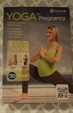 Yoga for Pregnancy 2-Disc DVD Set GAIAM prenatal postnatal