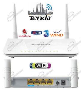 Router Wi-Fi Tenda 4G630 Wireless per Chiavetta 4G LTE Huawei (non inclusa)