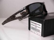 Oakley Polarized Sunglasses Crankcase 009165-06 Grey Smoke History text New RARE