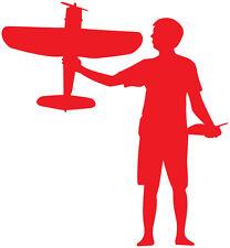 Decal Corsair Airplane Sticker, RC, Radio controlled silhouette