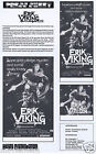 ERIK THE VIKING Original Vintage Australian Movie Press Sheet