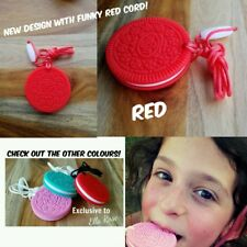 Silicone Necklace Biscuit ASD Autistic Child Chew Sensory FOOD GRADE BPA Free