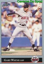 424   GARY WAYNE    MINNESOTA TWINS  BASEBALL CARD LEAF 1992
