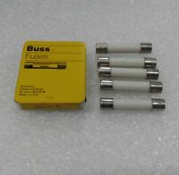 ABC-6 Bussmann Fuse (Pack of 5) 6 Amp 250V NEW!