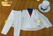 Magic Kaito Kaito Kuroba Cosplay Costume white with hat
