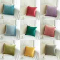 Velvet Pillow Sofa Room Waist Throw Cushion Cover Home Decor Cushion Cover Case