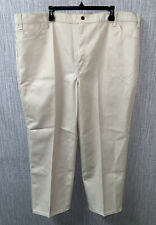 Big Mac Workwear Mens Beige Polyester/Cotton Casual Oants Size 48 X 30 NWT