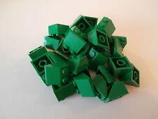LEGO CREATOR  30 Dachsteine 3039 in grün 2x2 Noppen   NEU