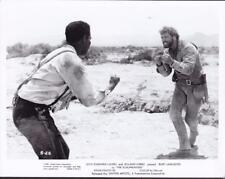 Burt Lancaster and Ossie Davis The Scalphunters 1968 vintage movie photo 32698