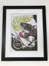 The Melvins A3 Concert Poster Framed. Classic Gig Art.