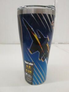 Tervis 30 Ounce Stainless Steel Navy Blue Angels Tumbler With Lid VVV 1262