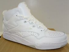 REEBOK BB4600 Mid Men's Basketball Shoes  White Leather NIB Size 9