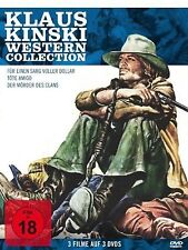 Klaus Kinski Western Collection 3-DVD Box Set Klaus Kinski, Damiano Damiani NEW